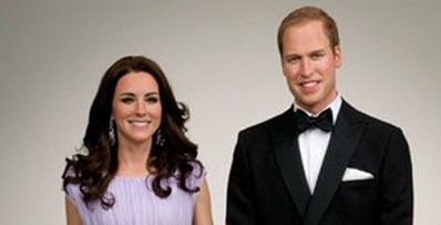 Will & Kate Waxworks Unveiled Around The Globe
