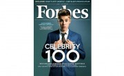 "Justin Bieber, named ""Venture Capitalist"" on the Forbes Celebrity 100"