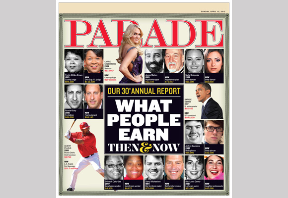 PARADE Magazine 'What People Earn' Issue