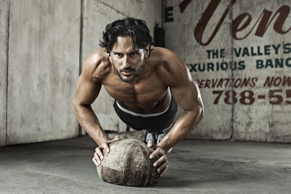 Joe Manganiello Steams Up Men's Health UK