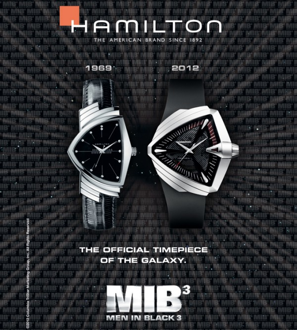 Enter For Your Chance To Win An Official &#8216;MIB 3&#8242; Timepiece