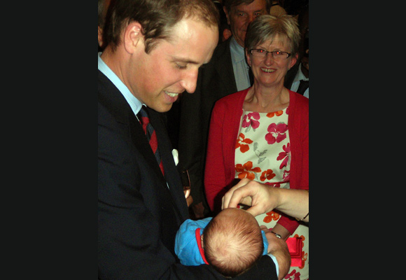 Prince William and Kate Middleton Have Baby On The Brain