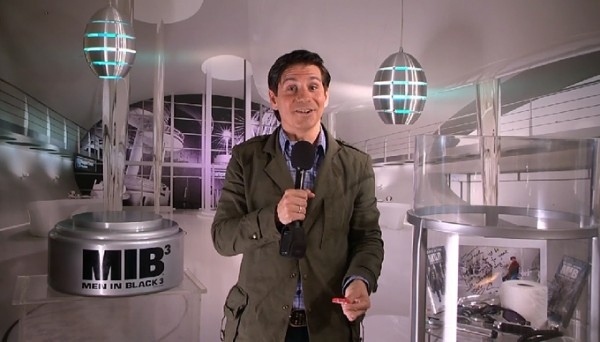 Rick Campanelli Goes Back In Time With 'MIB 3′ Cast