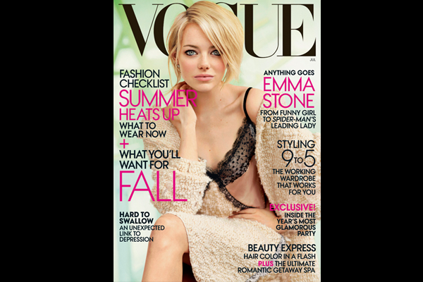 Emma Stone is Funny in Vogue