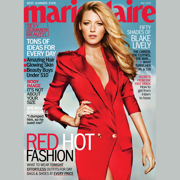 'Gossip Girl' Blake Lively On Public Perception