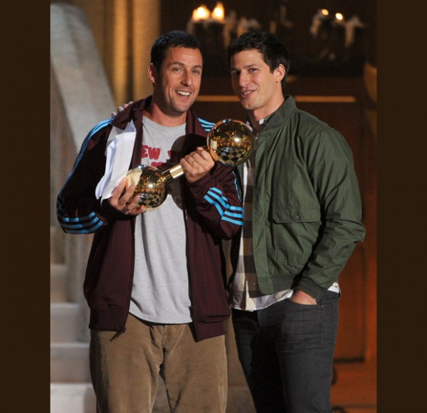 Sandler's Brass Balls & Troops Love Timberlake