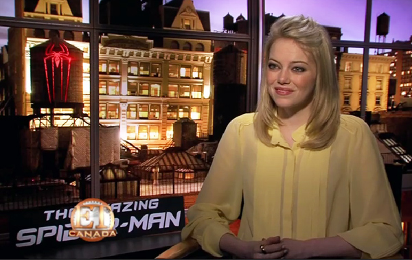 Everybody Loves Emma Stone, Including Spiderman!
