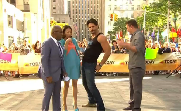 Move Over Channing, Joe Takes Over 'Today'