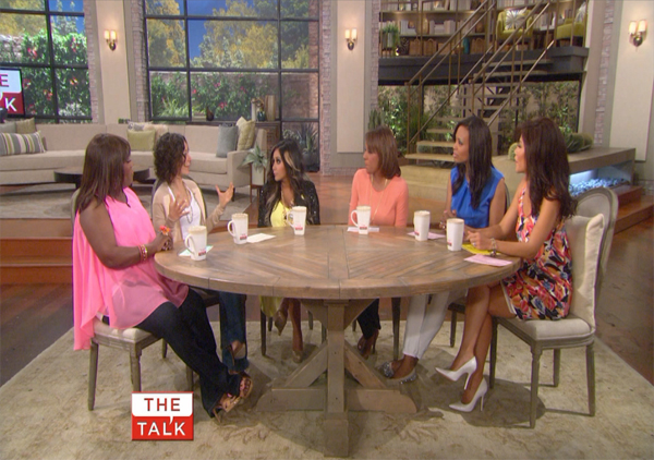 It's all Baby Talk with Snooki on 'The Talk'