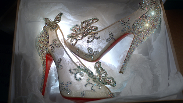 Louboutin Creates Cinderella Slipper