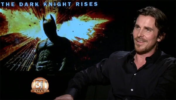 Christian Bale on Hanging Up His Bat Suit