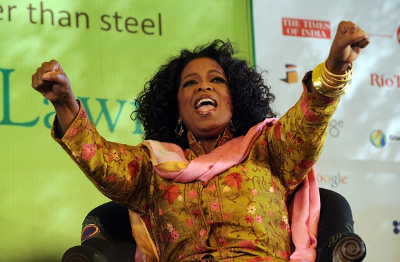 Oprah More Powerful Than Lady Gaga