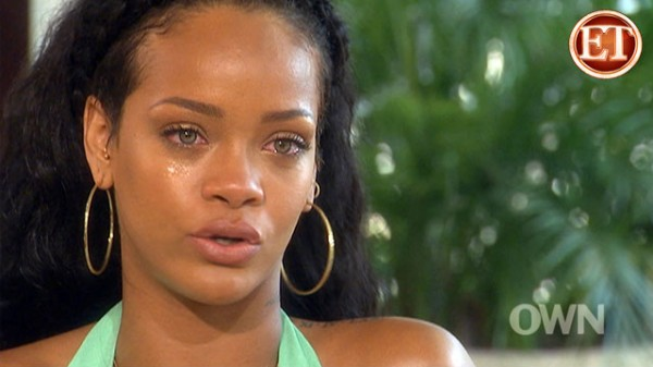 Rihanna Tears Up Recalling Chris Brown Incident