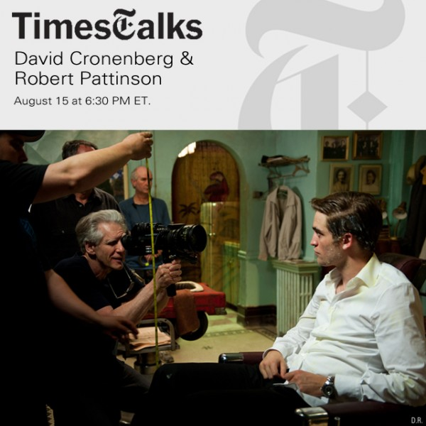 Livestream: Rob and David Talk &#8216;Cosmopolis&#8217;