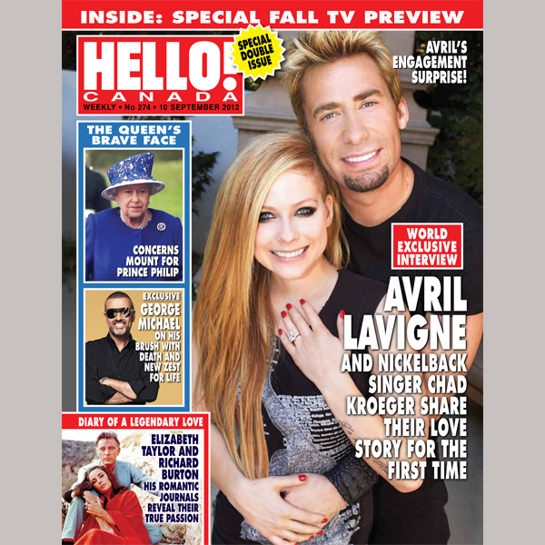 Avril Lavigne and Chad Kroeger Engaged