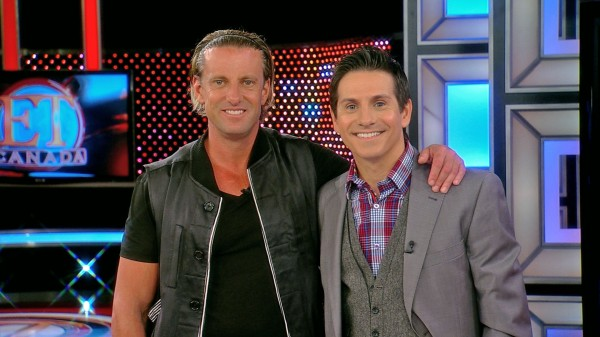 Daniel Powter Has A Good Day In ET Canada's Studio