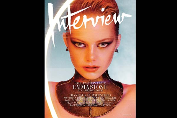 Emma Stone Is Out Of This World In Interview Mag