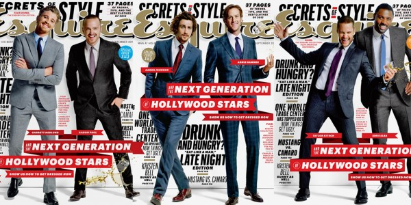 Esquire's 'The Next Generation of Hollywood Stars'