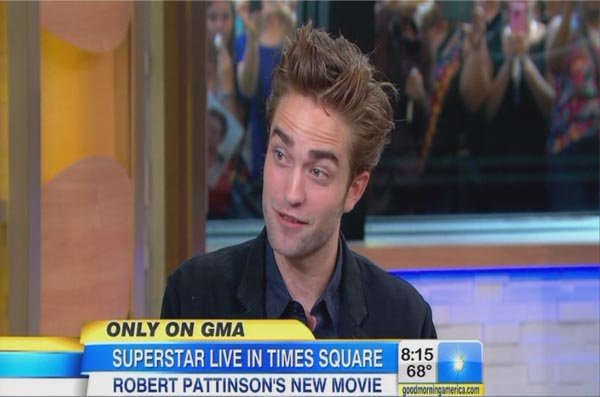 Robert Pattinson&#8217;s &#8216;Elephant In The Room&#8217; on GMA