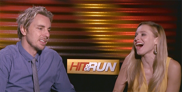 Dax Shepard and Kristen Bell Cut to the Chase