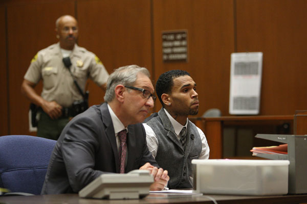 Chris Brown Fails Drug Test