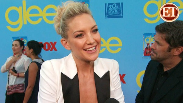 Kate Hudson Dishes on 'Glee' Guest Gig