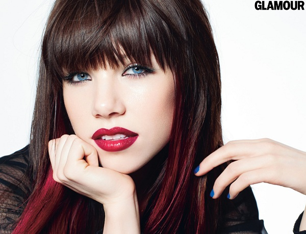 Carly Rae Jepsen Shows Her 'Glamour'ous Side