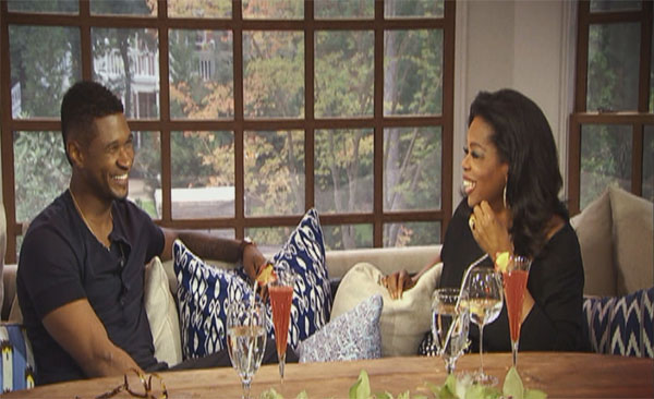 Usher Talks Custody Battle With Oprah