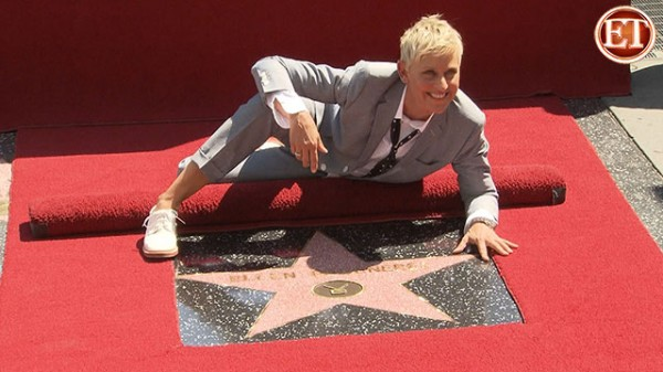 A Star on the Walk of Fame for Ellen DeGeneres