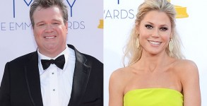 Eric Stonestreet and Julie Bowen. Photos: Getty