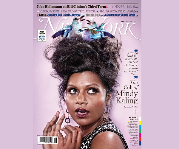 'It' Girl Mindy Kaling Covers NY Mag