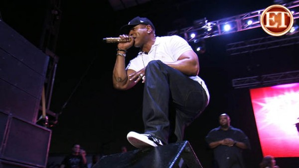 LL Cool J Performs a Private Concert for Marines