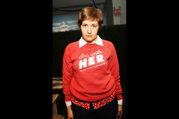 Lena Dunham Talks 'First Time' With Obama