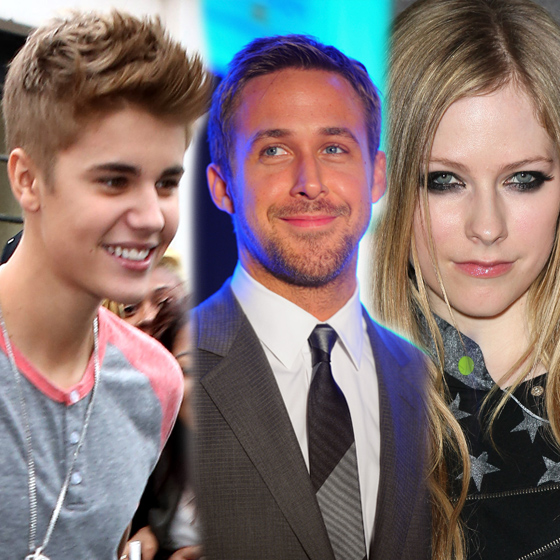 Justin Bieber, Ryan Gosling and Avril Lavigne Share Bloodline