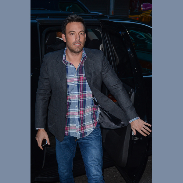 Ben Affleck Sideswipes Car, Leaves Note