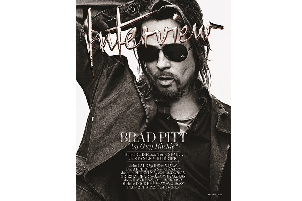 Brad Pitt Transforms For 'Interview'
