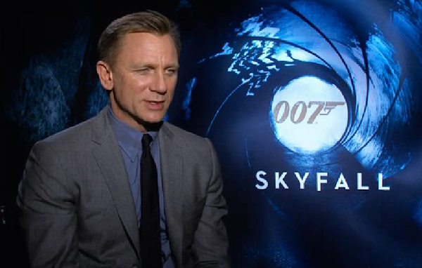Rick on His 'Bond, James Bond' Junket in NYC…