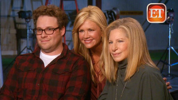 Barbra Streisand and Seth Rogen play mother and son in the upcoming ...