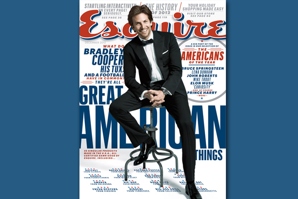 Bradley Cooper Gets Loose With Esquire