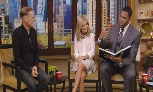 Bryan Adams Gets Exposed on 'Live With Kelly and Michael'