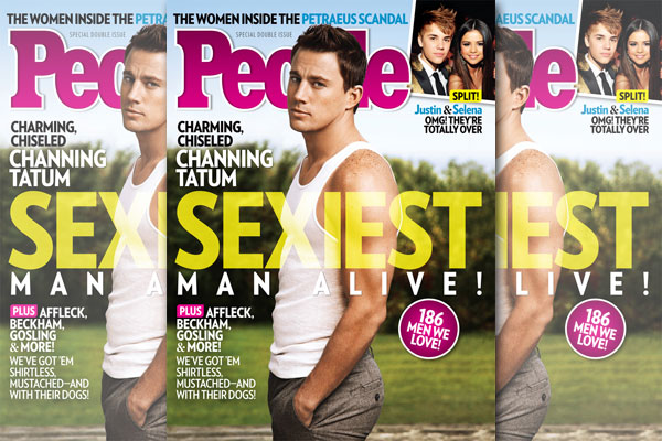 Channing Tatum: Officially The &#8216;Sexiest Man Alive&#8217;