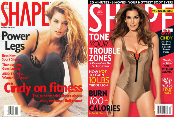 Cindy Crawford Proves She&#8217;s &#8216;Shape&#8217;ly As Ever
