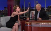 David Letterman Gets &#8216;Lucky&#8217; With Scarlett Johansson