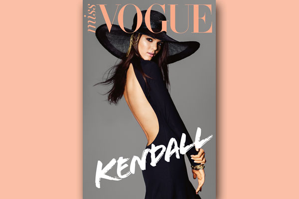 Kendall Jenner Is Miss Vogue