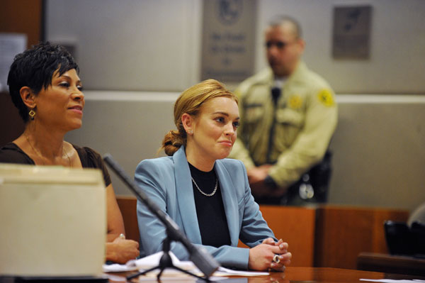 Lindsay Lohan Enters Not Guilty Plea
