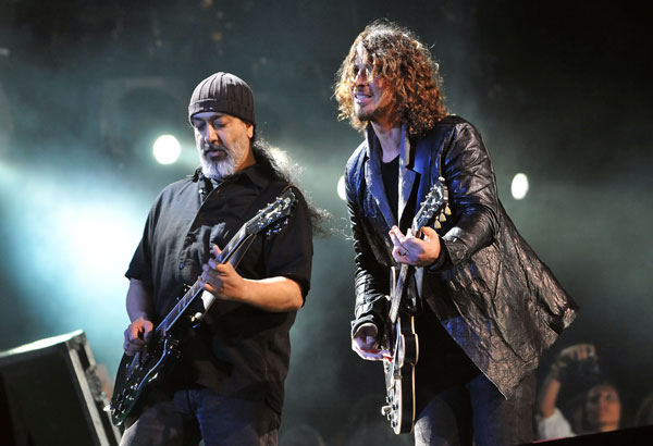 WATCH: Soundgarden 'LIVE On Letterman'