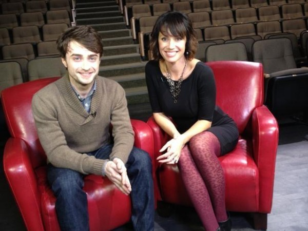 Erin Cebula Catches Up With Daniel Radcliffe in Whistler