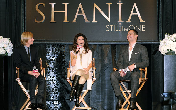 Shania Twain Tells Reporters Why She's 'Still The One'