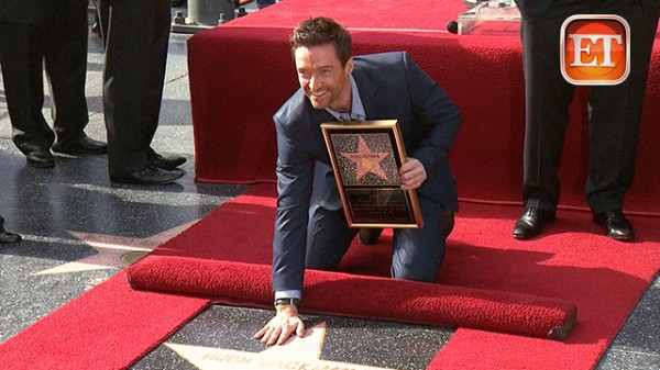Hugh Jackman Gets Star on Walk of Fame