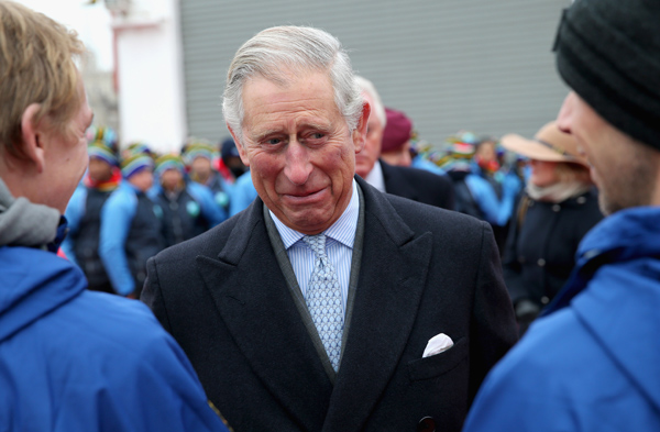 Prince Charles Excited To Become A Grandfather